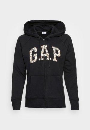 NOVELTY - Zip-up sweatshirt - black