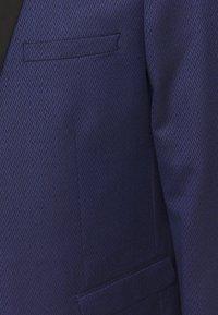 Shelby & Sons - COFTON TUXEDO SUIT  - Suit - navy - 5