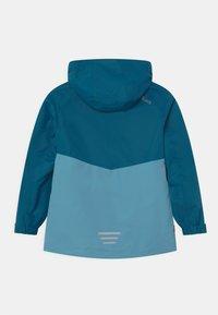 TrollKids - BRYGGEN 2-IN-1 UNISEX  - Hardshellová bunda - petrol/dolphin blue/spicy red - 1