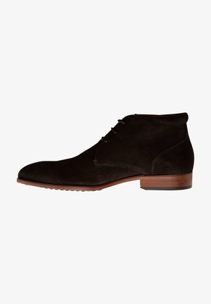 JOHN ST. - Smart lace-ups - brown suede