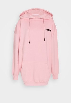 PLAYBOY GRAPHIC PRINT HOODY DRESS - Day dress - pink