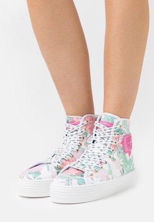 EYE LIKE - Zapatillas altas - pink