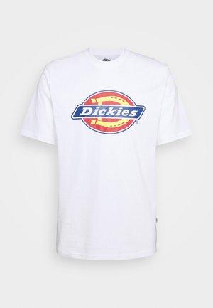 ICON LOGO TEE - Print T-shirt - white