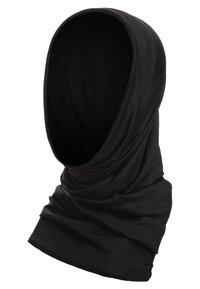 MERINO WOOL BUFF - Kruhová šála - black
