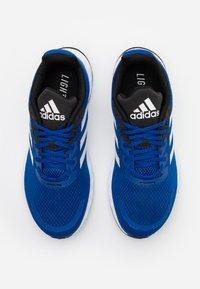 adidas Performance - DURAMO  - Neutral running shoes - royal blue/footwear white/core black - 3