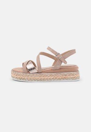 BY GUIDO MARIA KRETSCHMER - Platform sandals - nude comb