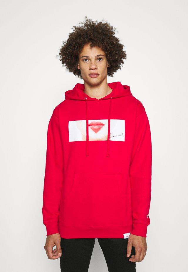 LIPS HOODIES - Sweatshirt - red