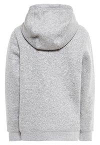 Nike Performance - Luvtröja - dk grey heather/white - 1