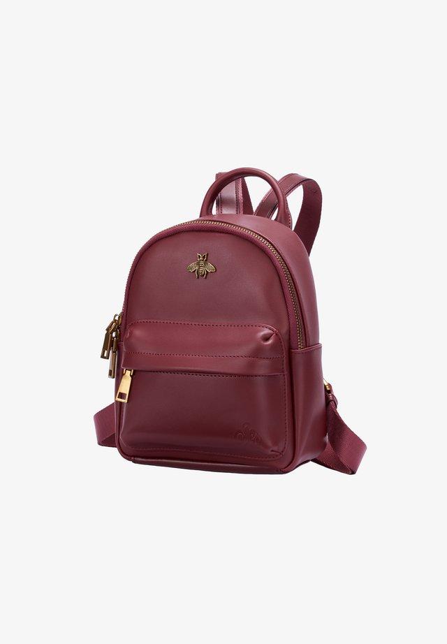 DIAZ - Backpack - weinrot