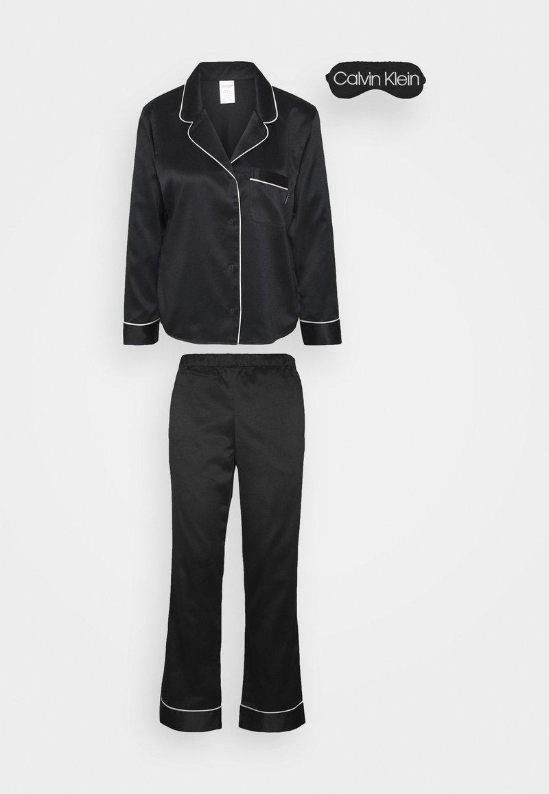 Calvin Klein Underwear - GIFT PANT SET - Pigiama - black