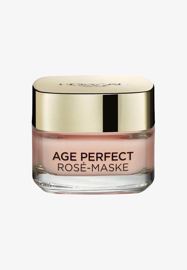 L'Oréal Paris Skin - AGE PERFECT ROSE MASK 50ML - Face mask - -