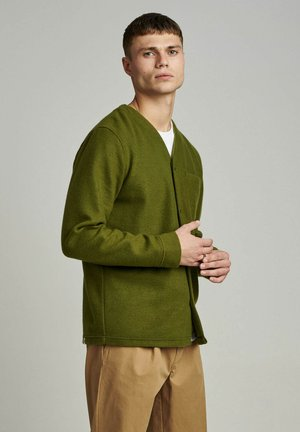 AKSAM - Cardigan - vineyard green