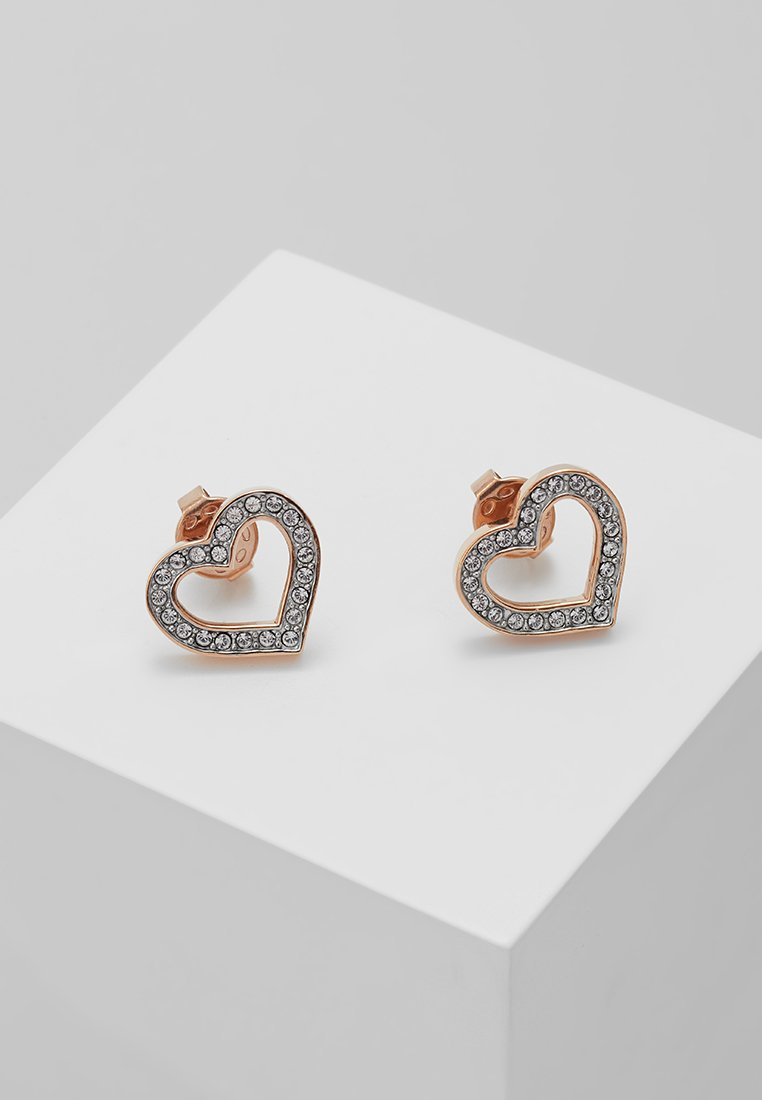 Guess - SHINE ON ME - Pendientes - rosegold-coloured
