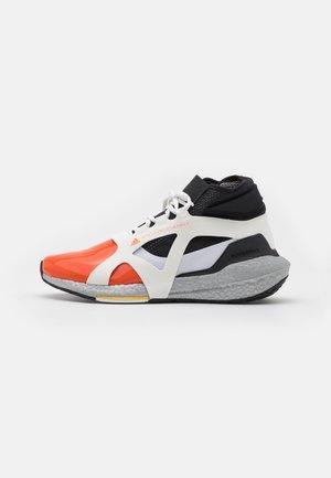 ASMC ULTRABOOST 21 METALLIC - Neutral running shoes - footwear white/signal orange/core black