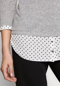 Dorothy Perkins Tall - SPOT HEM 2 - Pullover - light grey - 5