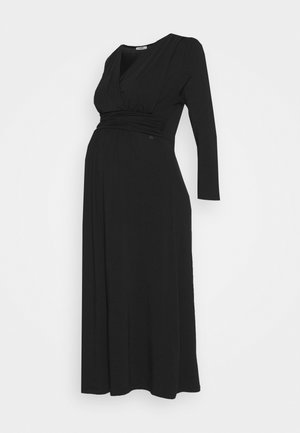 DRESS NURSING GOTS - Žerzejové šaty - black