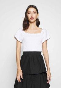 Monki - RIVA  - Print T-shirt - white - 0