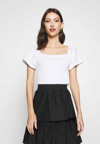 RIVA  - Print T-shirt - white
