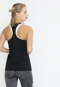 Nike Performance - TANK ALL OVER  - Funktionstrøjer - black/white - 2
