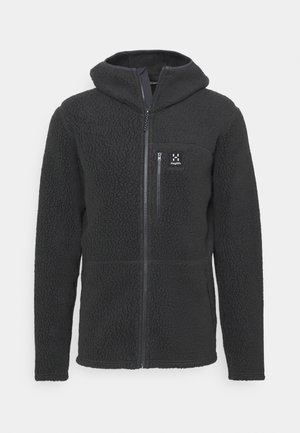 HOOD MEN - Fleece jacket - slate
