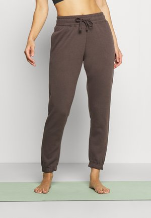 LIFESTYLE GYM TRACKPANT - Tracksuit bottoms - peppercorn