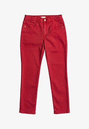 SEE YOU AGAIN - Slim fit jeans - deep claret