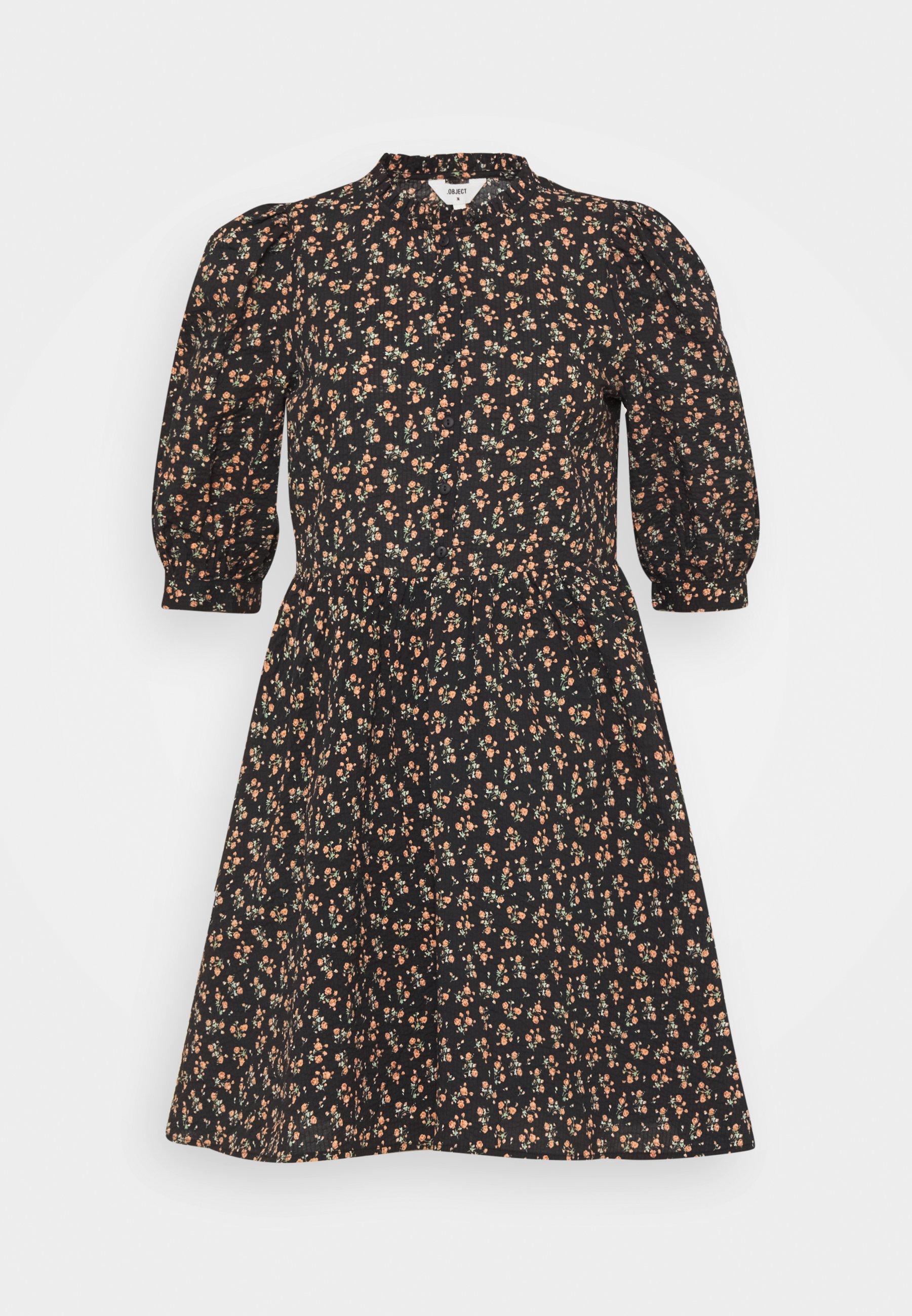 Donna OBJBAREEN DRESS - Abito a camicia