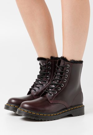 1460 SERENA - Lace-up ankle boots - oxblood