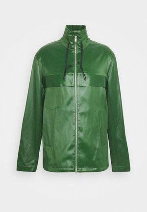 Summer jacket - vetiver green