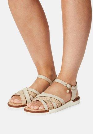 Sandals - ecru