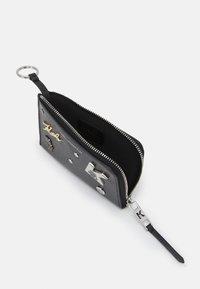 KARL LAGERFELD - SEVEN PINS ZIP - Wallet - black - 2