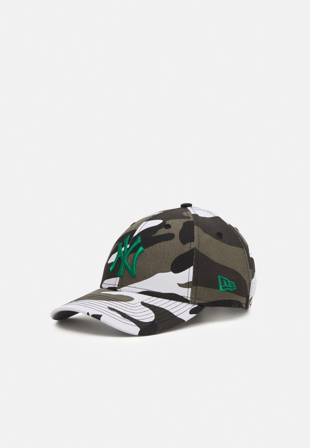 ALL OVER CAMO 9FORTY UNISEX - Lippalakki - white/grey