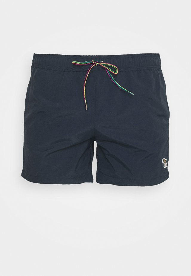 MEN SHORT ZEBRA - Swimming shorts - dark blue
