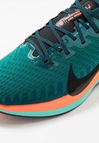 Nike Performance - ZOOM PEGASUS TURBO 2 HKNE - Neutral running shoes - neptune green/black/midnight turquoise/hyper crimson/white - 5