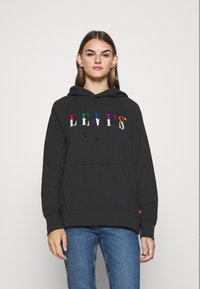 Levi's® - GRAPHIC SPORT HOODIE - Sweat à capuche - black - 0