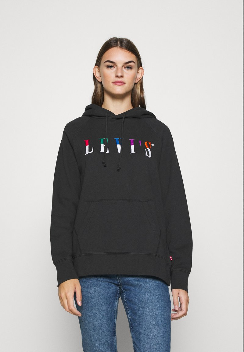 Levi's® - GRAPHIC SPORT HOODIE - Sweat à capuche - black