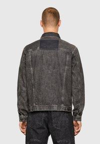 Diesel - Giacca di jeans - black - 2