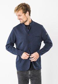 super.natural - WENGER - Zip-up hoodie - dark blue - 0
