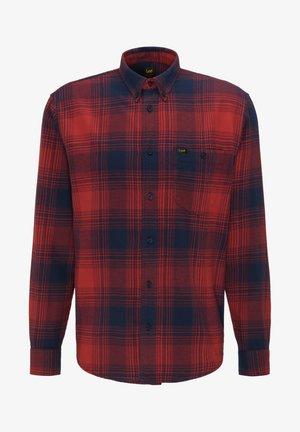 RIVETED - Skjorta - red ochre