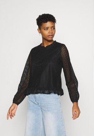 VIJANIA - Long sleeved top - black