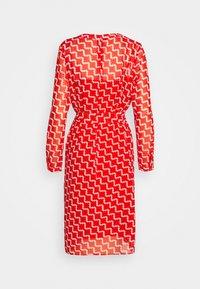 Esprit Collection - FLUENT GEORGE - Day dress - red orange - 1