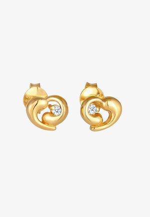 HEART - Korvakorut - gold