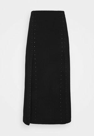 JUDE - Wrap skirt - noir