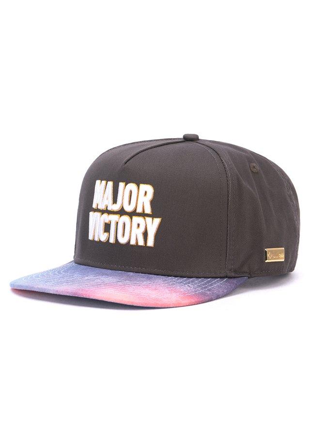 MISTER TEE CAP HOG MAJOR VICTORY CAP - Cap - black/white