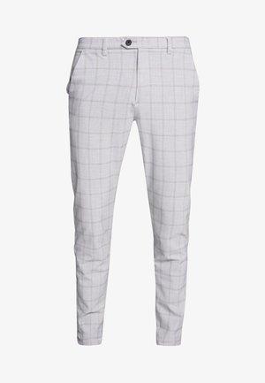 JJIMARCO JJCONNOR - Trousers - silver