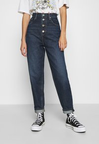 Tommy Jeans - MOM - Relaxed fit jeans - deep blue - 0