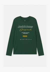 Jack & Jones Junior - JOREXPANDED CREW NECK  - Maglietta a manica lunga - trekking green - 0