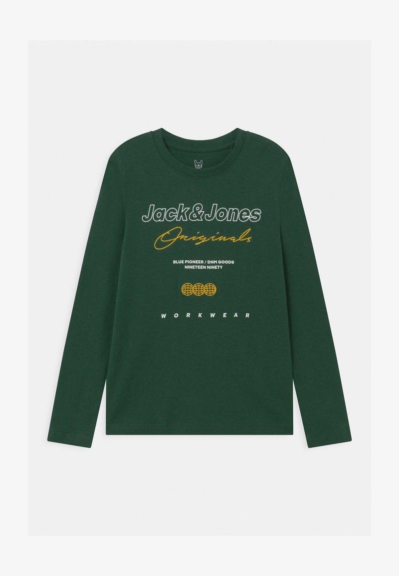 Jack & Jones Junior - JOREXPANDED CREW NECK  - Maglietta a manica lunga - trekking green