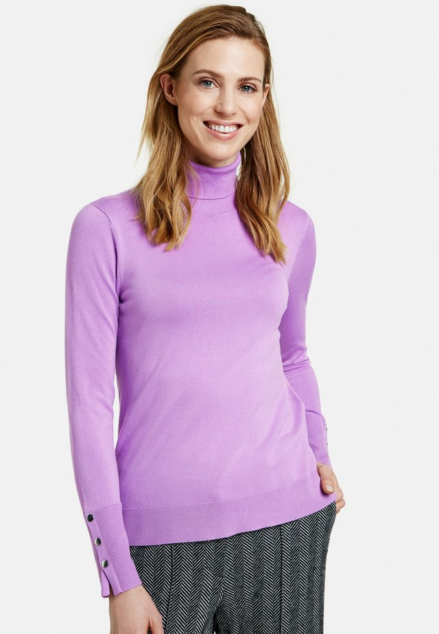 Pullover - sheer lilac
