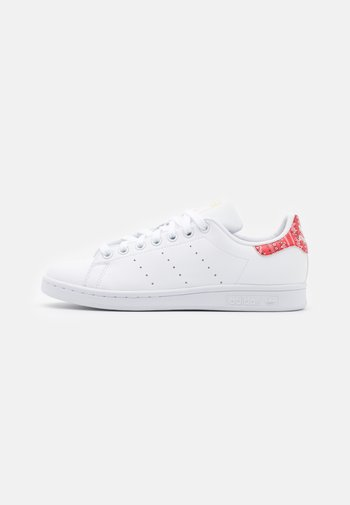 STAN SMITH - Sneakers basse - footwear white/core white/red